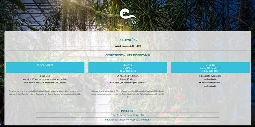 Ocean Orchids Tropischer Garten