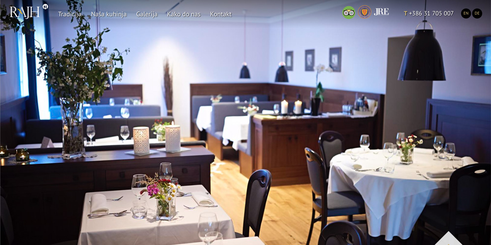 RAJH restaurant