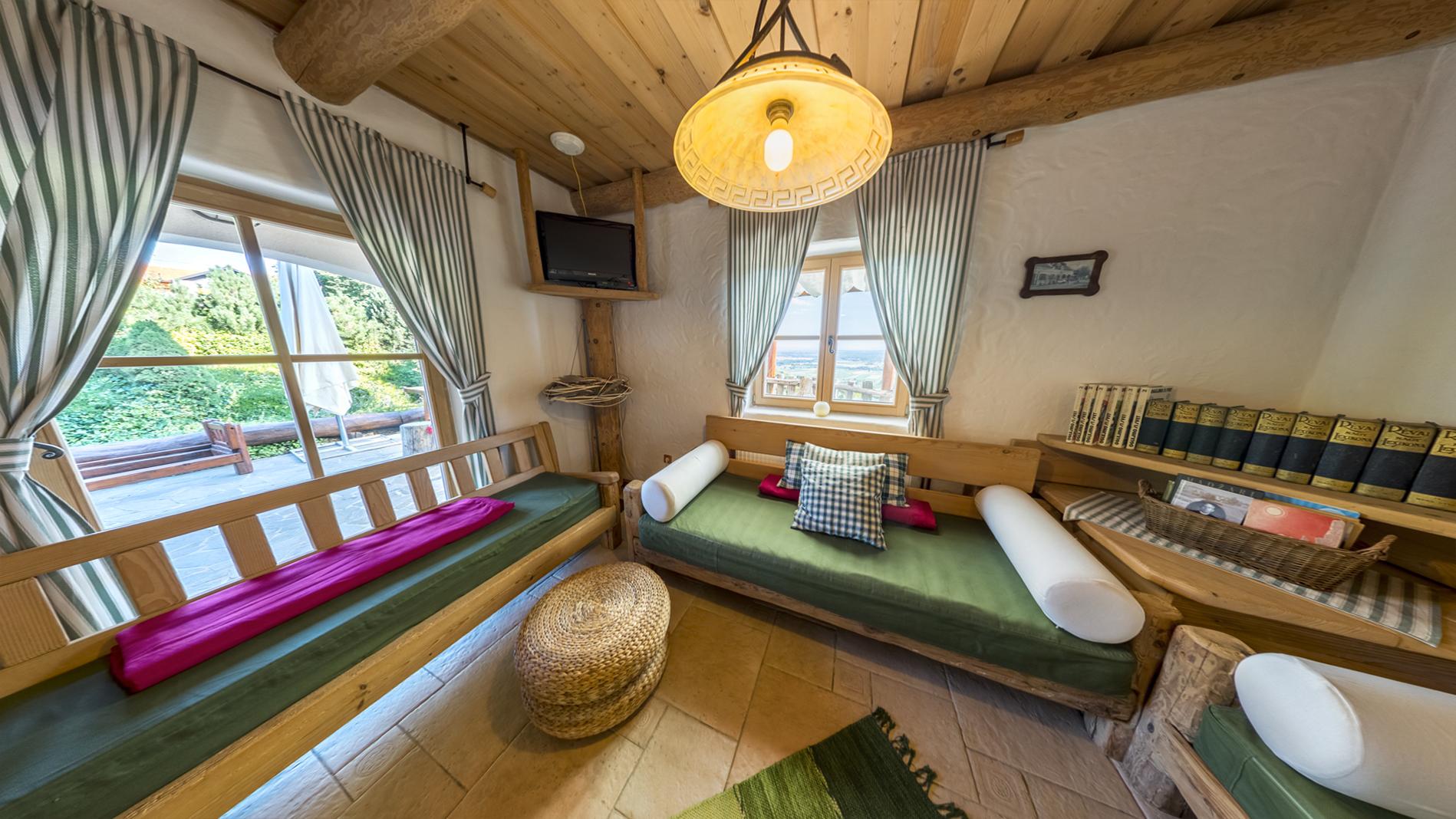 Kmečka hiša - dnevni prostor